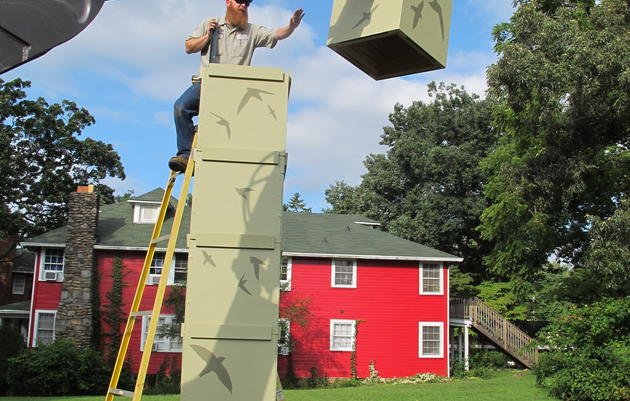 Build Your Own Chimney Swift Tower