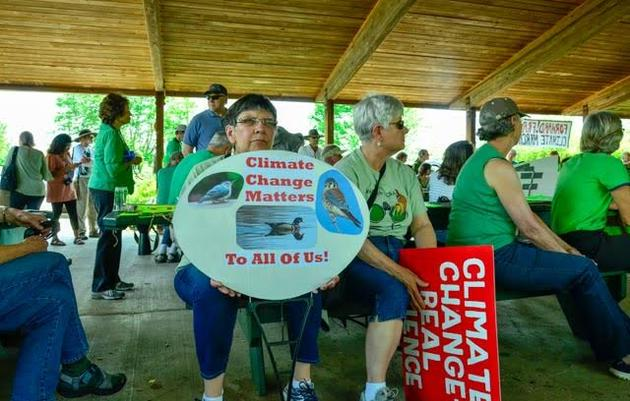 Speaking Up for Birds at the 2017 Climate March