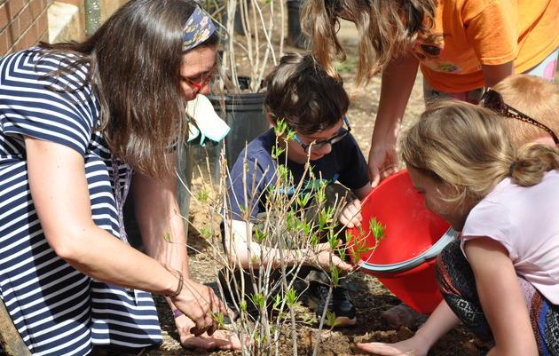 Boone Bird Garden Groundbreaking and Celebration