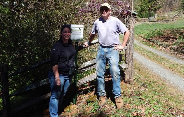 Audubon Signs Designate Specialized Habitat