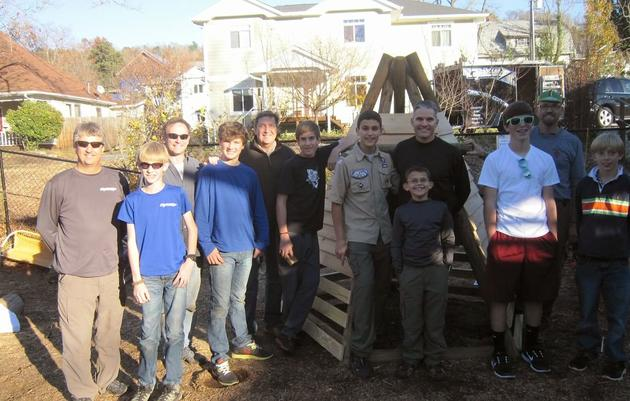 Asheville Eagle Scout mobilizes Boy Scouts to help Brown-headed Nuthatches