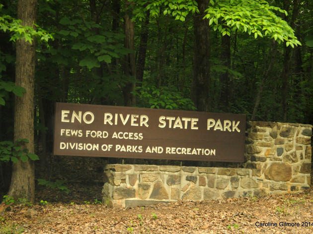 In Search of Spring Colors at Eno River State Park