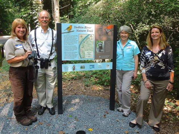 Chapter of the Month: Forsyth Audubon - Yadkin Nature Trail Now Open