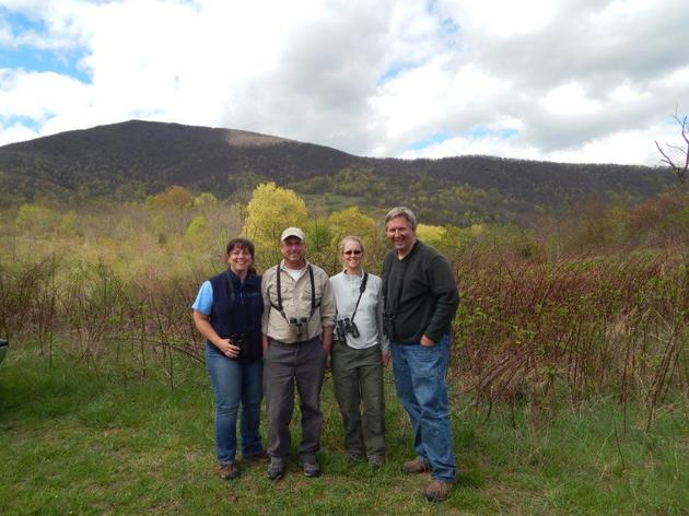 Audubon Vermont Biologists Visit North Carolina