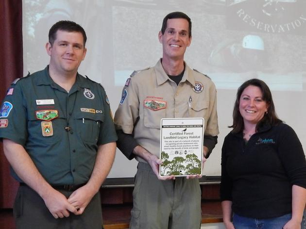 Yanceyville Boy Scout Camp Recognized for Bird Conservation