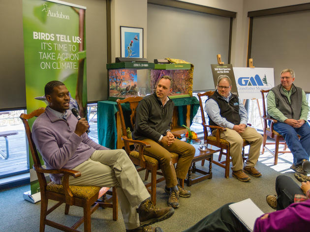 Audubon, NC DEQ's Regan, Grandfather Mountain officials talk WNC climate threats