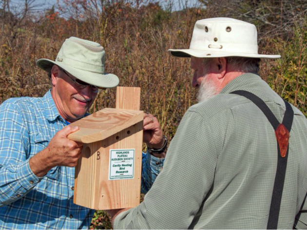 Chapter of the Month: The Highlands Plateau Audubon Society Nest Box Project