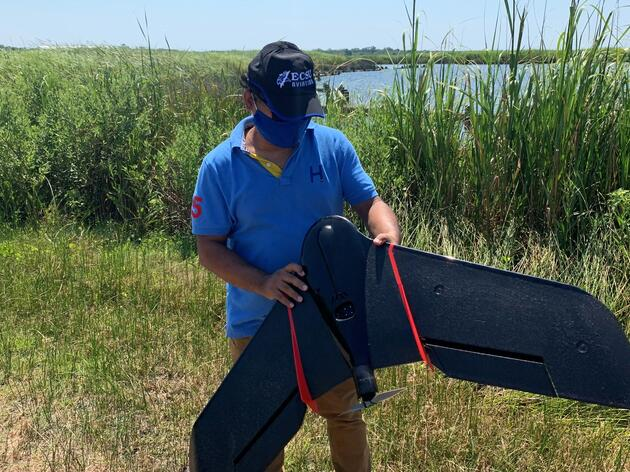 Drone Mapping Project Takes Flight at Pine Island