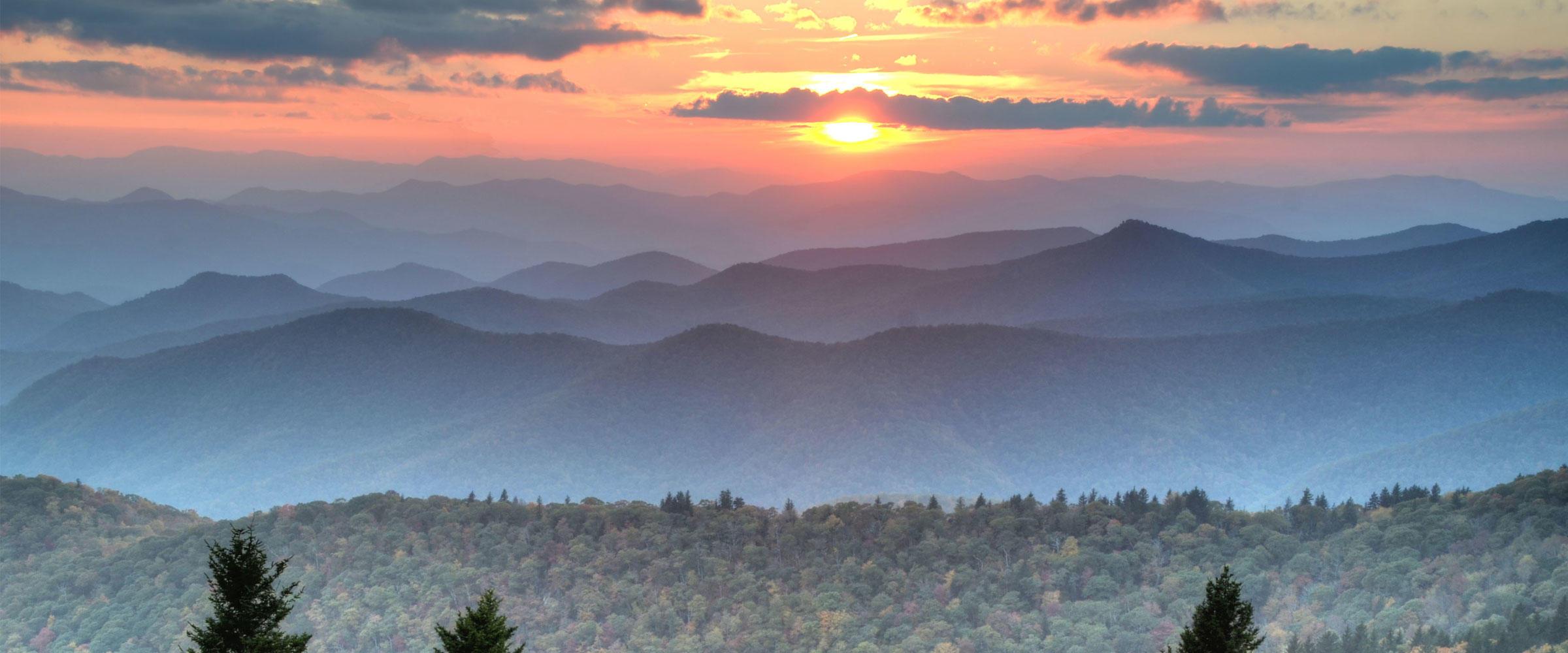 Blue Ridge Mountains_Mary Anne Baker_Flickr CC
