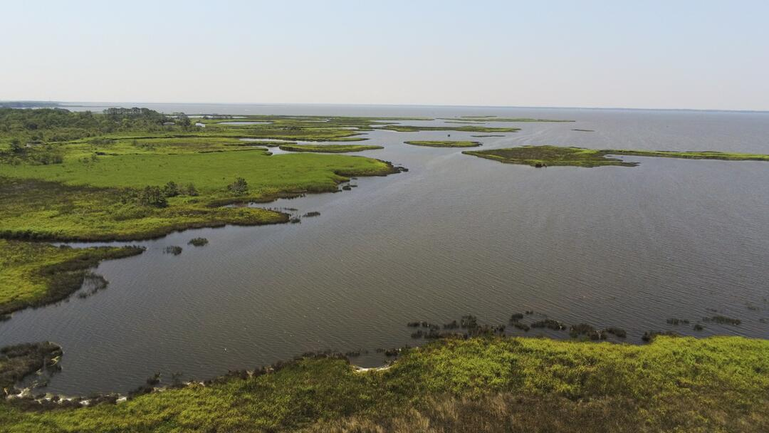 A new drone project by Elizabeth City State University will map Currituck Sound marshes from above.